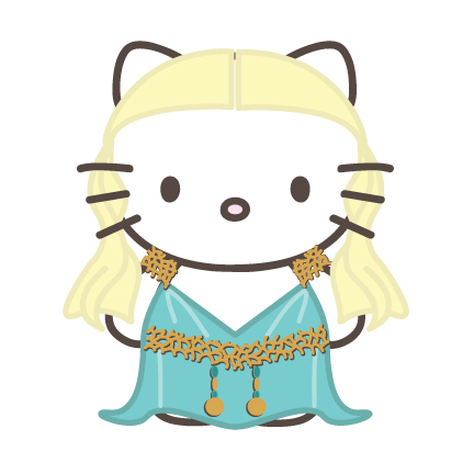 Hello Kitty Daenerys